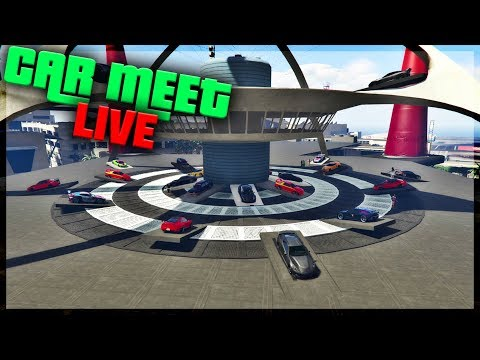 GTA 5 CAR MEET / ALL CARS