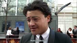 Vittorio's red carpet interview at the Olivier Awards 2012