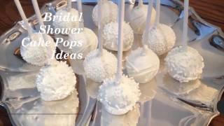 Bridal Shower Cake Pops - 99weddingideas.com