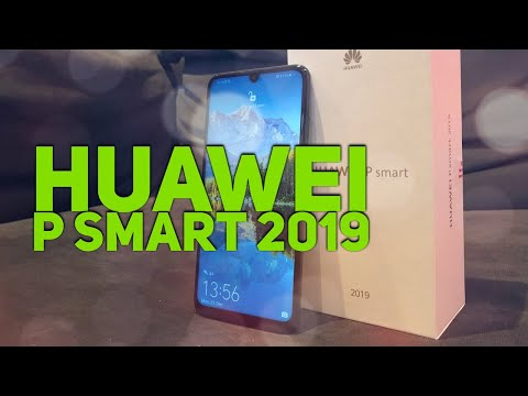 Video over Huawei P Smart (2019)