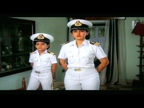 ईमानदार सीमा शुल्क अधिकारी की कहानी   Honest Customs Officer   Jaya Prada,Mammooty,Baby Shalini  