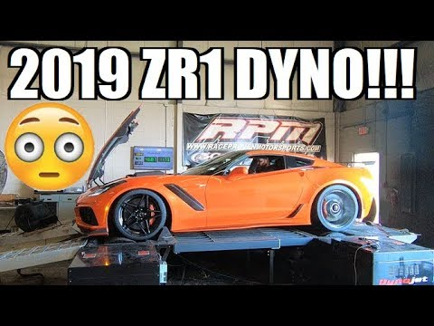 FIRST 2019 ZR1 ON THE DYNO!!! The Numbers Are INSANE...