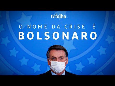Vídeo mostra desorganização de Bolsonaro em meio à pandemia