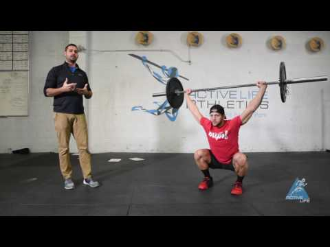 Performance Care - Pause Overhead Squat - Movement Demo