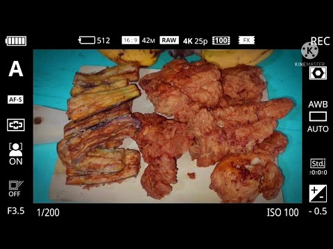 , title : 'Fried Chicken & Fried talong (eggplant) | marbens vlog