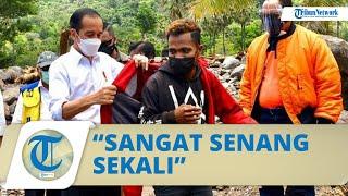 Pengakuan Pemuda Lembata NTT yang Diberi Jaket oleh Jokowi, Fransiskus: Saya Tidak Mau Cuci