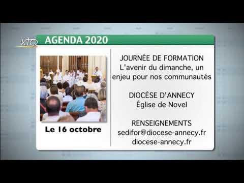 Agenda du 09 octobre 2020