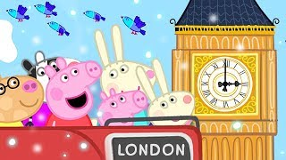 Peppa Pig English Episodes   Christmas in London 🇬🇧   Peppa Pig Official   4K