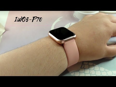 ¿CLON APPLE WATCH? IWO 5 P70 | Lydia Iglesias