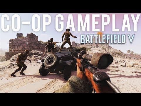 Battlefield 5 Co-Op Gameplay