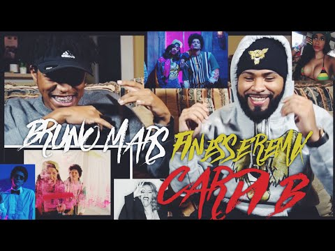 Bruno Mars - Finesse (Remix) [Feat. Cardi B] [Official Video] | FVO Reaction