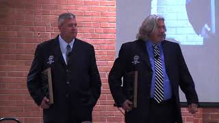Rex Ryan and Rob Ryan inducted into the SWOSU Hall of Fame (2012-02-20)