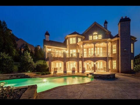 Residential real estate video of luxury home in Milton, GA, photographed by Cindy K.