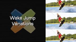 #3 Boat Wakeboard Intermediate – Wake jump variations