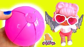 КРЫЛАТАЯ КУКЛА #ЛОЛ! НОВЫЕ ШАРЫ С СЮРПРИЗАМИ! ПОКУПКИ ЭЛЬЗЫ! #Игрушки с My Toys Pink