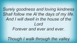 Al Green - 23rd Psalm Lyrics
