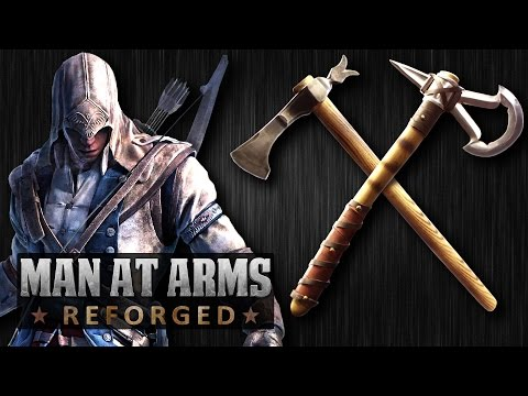 Man At Arms Reforged Team Creates The Iconic Tomahawk
