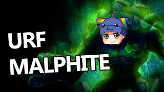 League of Legends - Ultra Rapid Fire Malphite - Full Game Commentary