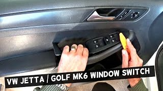 Vw a4 power windows not working most popular videos vw jetta mk6 master window switch replacement driver side vw golf mk6 fandeluxe Image collections
