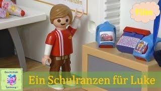 Playmobil Film Deutsch EIN SCHULRANZEN FÜR LUKE ♡ Playmobil Geschichten Mit Familie Miller