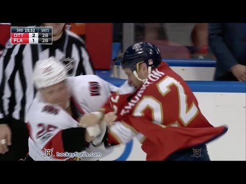 Shawn Thornton vs. Chris Neil