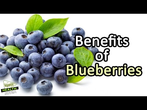 Video 7 Health Benefits of Blueberries || Healthy Food Tips