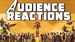 Part 3 Marvel Studios Avengers Marathon Audience Reactions ( Infinity War Included )