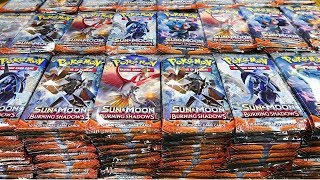 Burning Shadows, 1,000 Booster Pack Pokemon Opening!