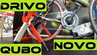 Elite Drivo, Qubo Hydromag, Novo Force REAL Review + ELite vs Tacx Features.