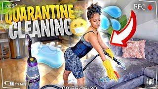 QUARANTINE DEEP CLEANING MY APARTMENT! (extreme motivation...)