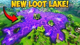 *NEW* LOOT LAKE! THE CUBE IS FINALLY GONE! - Fortnite Funny Fails and WTF Moments! #327