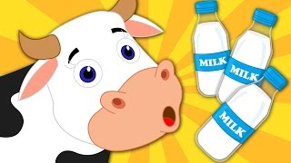 Moo Moo Cow | Nursery Rhymes | Kids Songs | Baby Rhymes | Children Video | Kids Tv Cartoon Videos