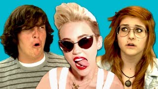 Teens React to Miley Cyrus - We Can't Stop