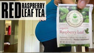 RED RASPBERRY LEAF TEA for Labor Prep + Fertility