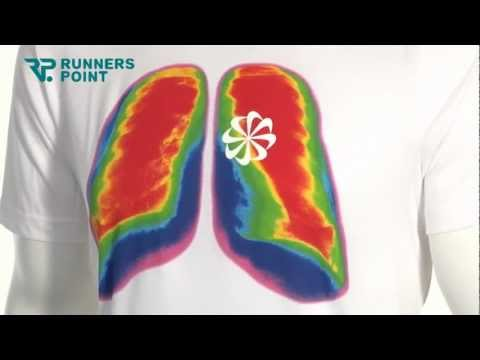 Nike CRUISER LUNGS & HEART LAUFSHIRT