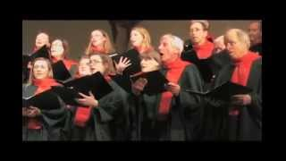 """Dors ma Colombe""  arr: Pierre Massie -- Stairwell Carollers"