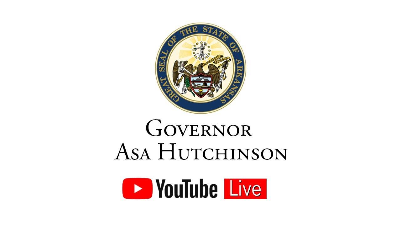 Gov. Asa Hutchinson Livestream: Economic Development Announcement - Vexus Boats - Flippin, AR