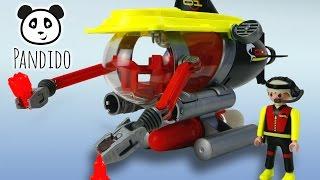 ⭕ Playmobil Tiefsee Tauchboot mit Motor -  ausgepackt und angespielt - Pandido TV