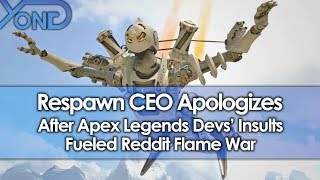 Respawn CEO Apologizes After Apex Legends Devs' Insults Fueled Reddit Flame War