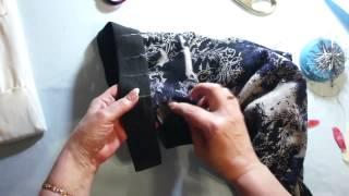 Смотреть онлайн Как пришить резинку к поясу брюк