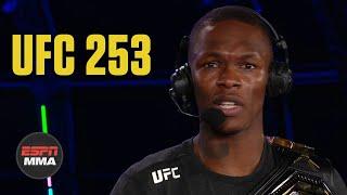Israel Adesanya recaps win vs. Paulo Costa | UFC 253 Post Show | ESPN MMA