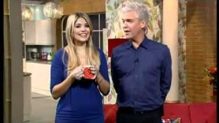 Phillip Schofield is drunk on This Morning - 25/11/2010