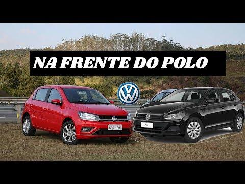 VW GOL FICA ENTRE OS 5 MAIS VENDIDOS DE JULHO E NA FRENTE DO POLO | Top Carros