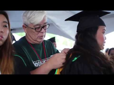 Spring University of Hawaii at Manoa Commencement Instructional Video for Students and Guests