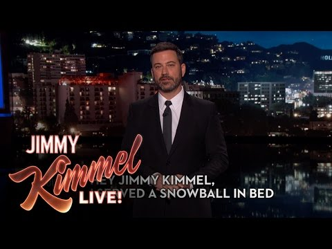 Hey Jimmy Kimmel, I Served a Snowball in Bed