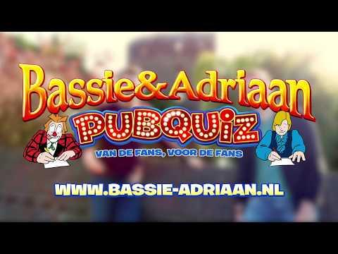 Voor alle fans: Bassie & Adriaan pubquiz!