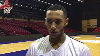 Donar TV met Arvin, Drew Smith, Stephen en coach Braal 240917