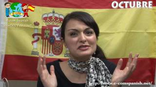 Ecomスペイン語聞き流しリスニング教材10月号