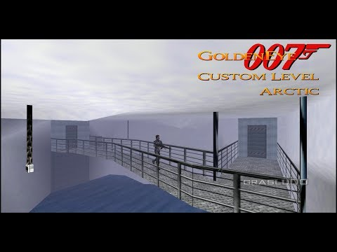 Download GoldenEye 007 N64 - Arctic - 00 Agent (Custom level) Mp4 HD Video and MP3