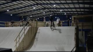 Bmx Learning To Backflip